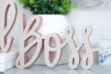 Load image into Gallery viewer, Girl Boss | Sign Decor