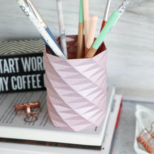 Geometric Pencil Holder