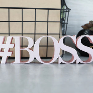 Hashtag Boss | Sign Decor