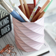 Load image into Gallery viewer, Geometric Pencil Holder