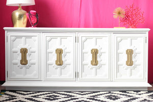 Stanley Hollywood Regency Dresser - Custom Lacquered