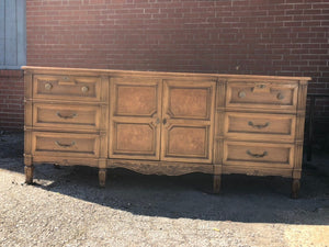 Beautiful Traditional Credenza Dresser - Ready for Custom Lacquer