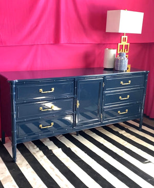 Henry Link Bali Hai Triple Dresser - Custom Lacquer+ INCLUDED FREE SHIPPING