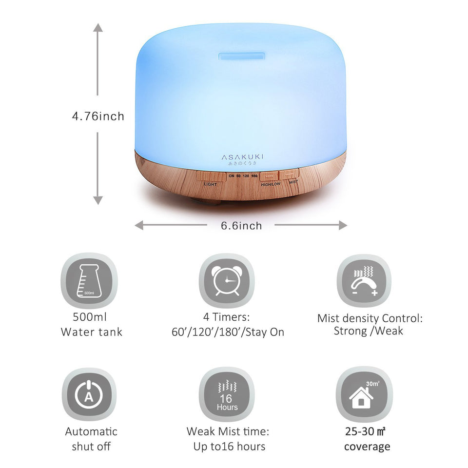 Air Humidifier Candle