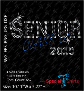 Class Of 2019 Rhinestone Digital Download