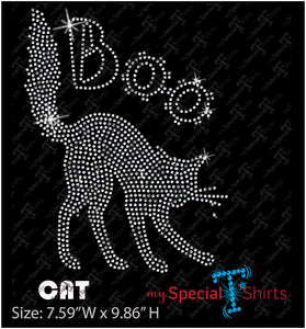 Cat Instant Download Rhinestone Design, (.svg, dxf .eps) Rhinestone Transfer cut file