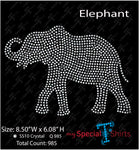 White Elephant Instant Download, (svg, dxf .eps) Rhinestone Transfer cut file
