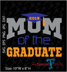 Mom Of The Graduate Vector Digital Download