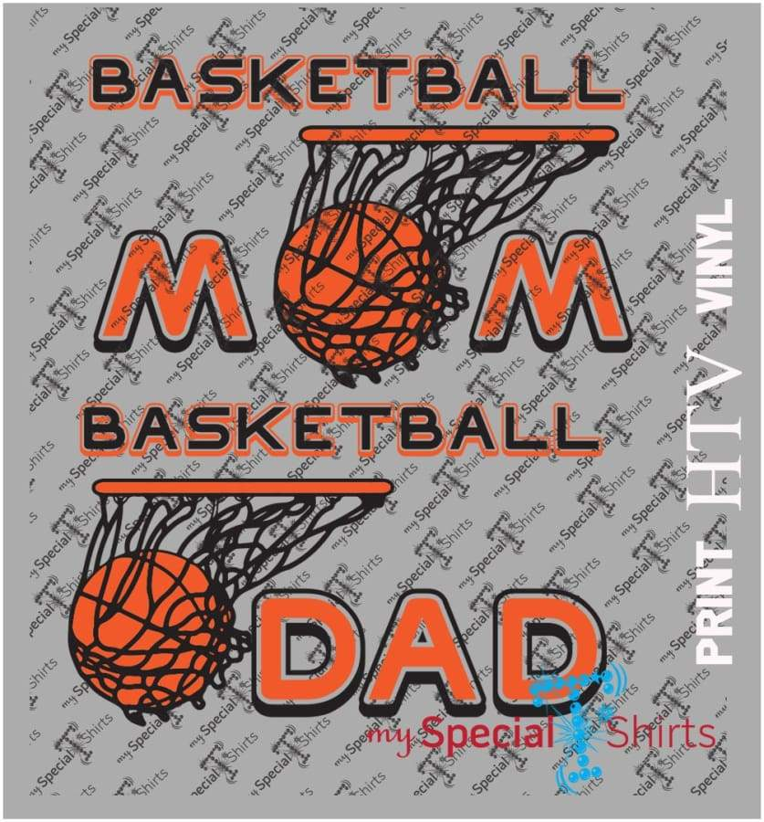 Basketball Mom And Dad Vector Digital Download Mst - Be Createful - Becreateful.com