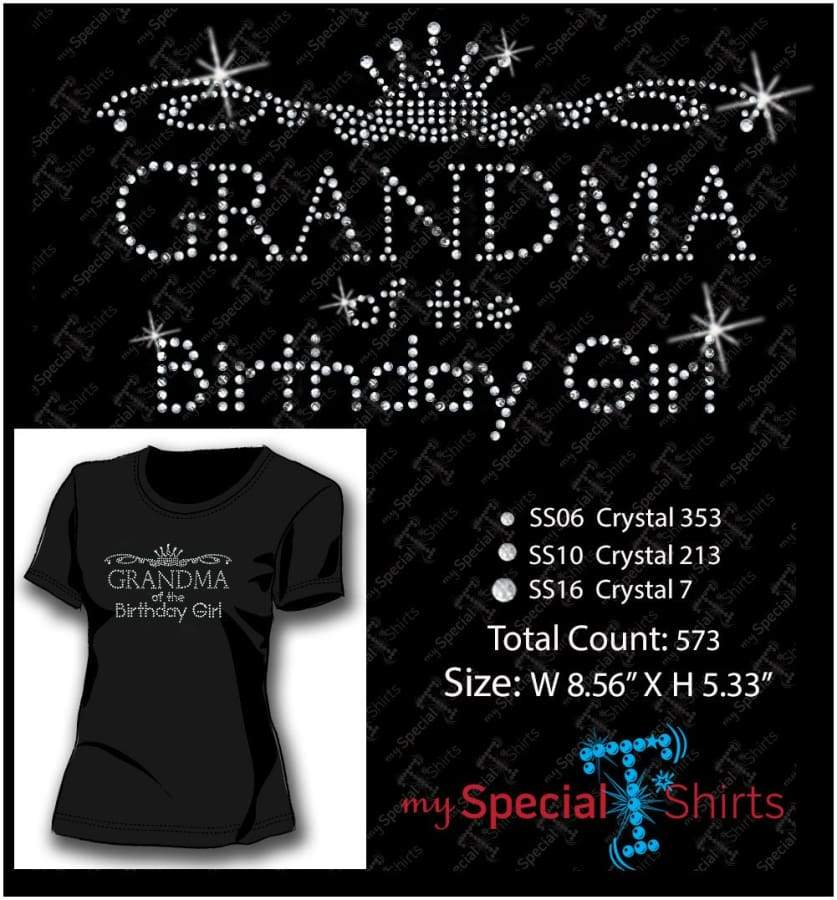 Birthday Girl Bundle Rhinestone Digital Download Mst - Be Createful - Becreateful.com