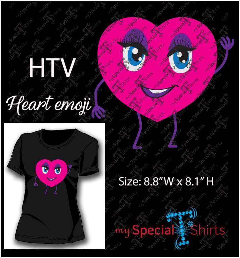 Emoji Heart Vector Digital Downloadmst - Be Createful - Becreateful.com