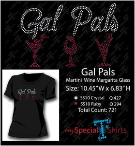 Gal Pals Rhinestone Digital Download Mst - Be Createful - Becreateful.com