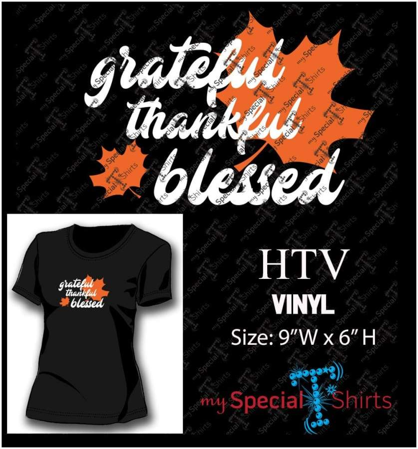 Grateful Thankful Blessed Vector Digital Download Mst - Be Createful - Becreateful.com