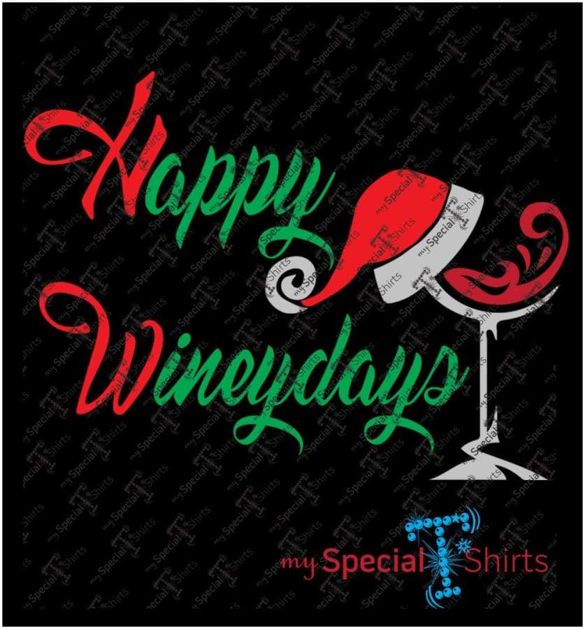 Happy Wineyday Vector Digital Download Mst - Be Createful - Becreateful.com
