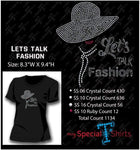 Lets Talk Fashion Rhinestone Digital Download Mst - Be Createful - Becreateful.com