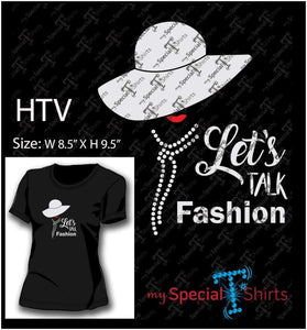 Lets Talk Fashion Vector Digital Download Mst - Be Createful - Becreateful.com