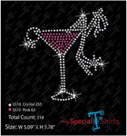 Martini Shoe And Ring Rhinestone Digital Download Mst - Be Createful - Becreateful.com