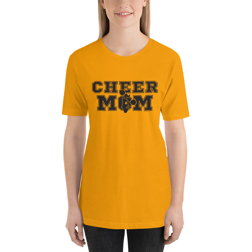 Cheer Mom Short-Sleeve Unisex T-Shirt