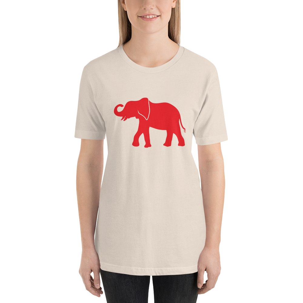 Elephant Short-Sleeve Unisex T-Shirt