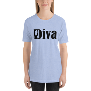 Diva Short-Sleeve Unisex T-Shirt