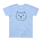 Kitty Cat Youth Short Sleeve T-Shirt