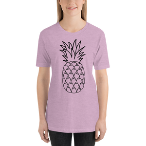 Pineapple Short-Sleeve Unisex T-Shirt