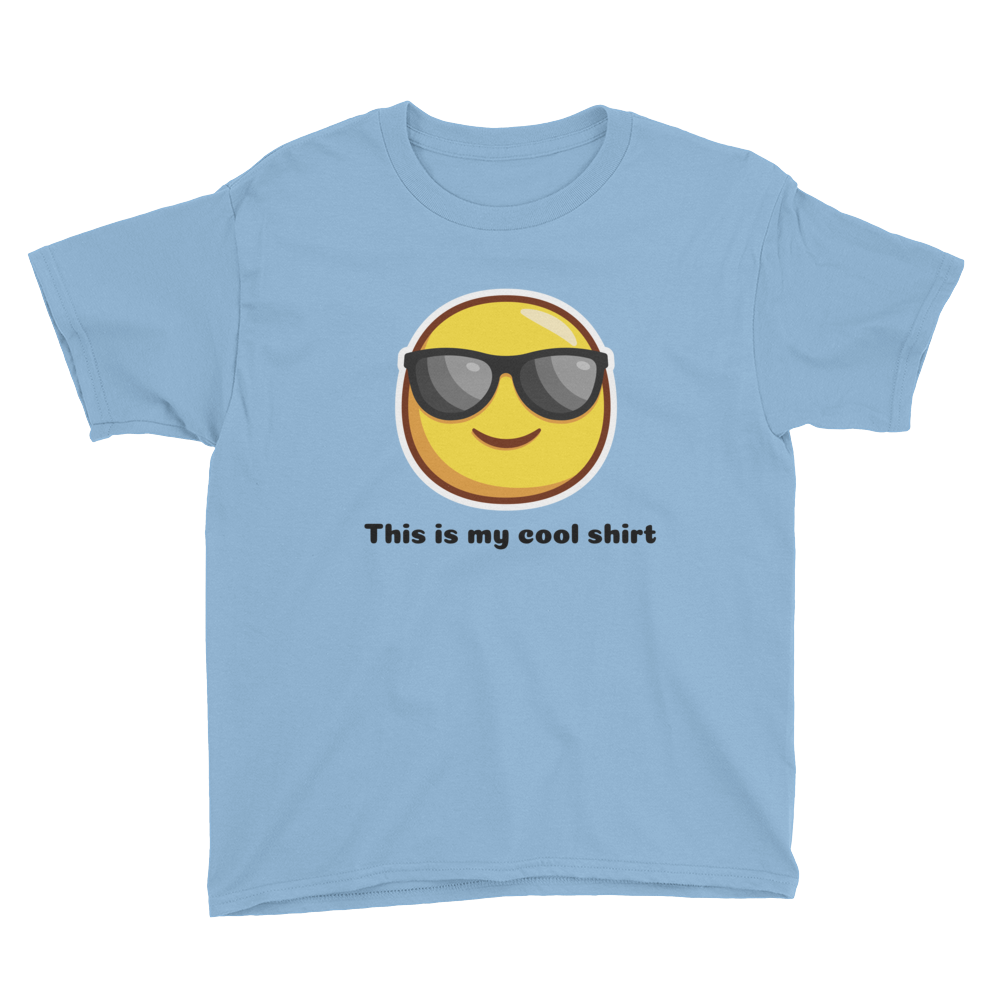 This Is My Cool Shirt Youth Short Sleeve T-Shirt
