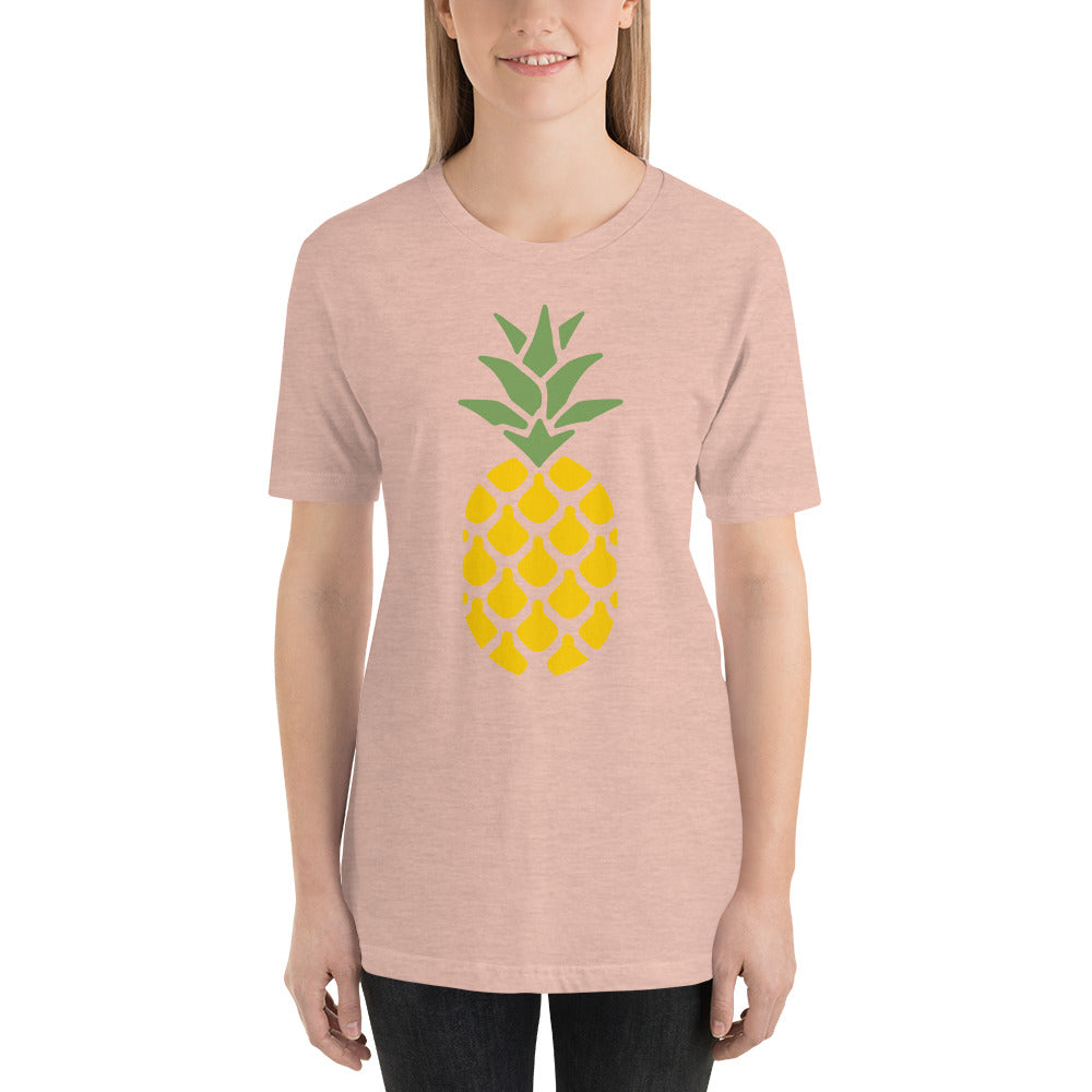 Pineapple Yellow Short-Sleeve Unisex T-Shirt