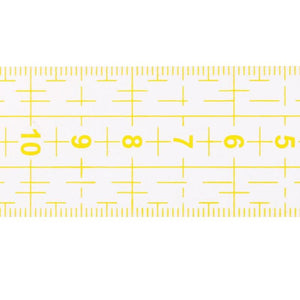 Clear Ruler For Shirt Applications