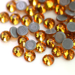 Glass Gold Hot-Fix Rhinestones