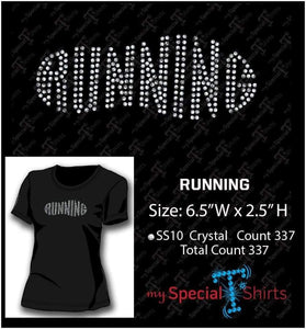Running Rhinestone Digital Download Mst - Be Createful - Becreateful.com