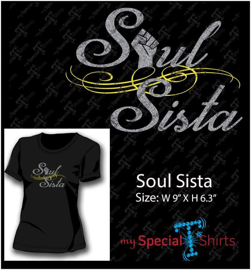 Soul Sista Vector Digital Download Mst - Be Createful - Becreateful.com