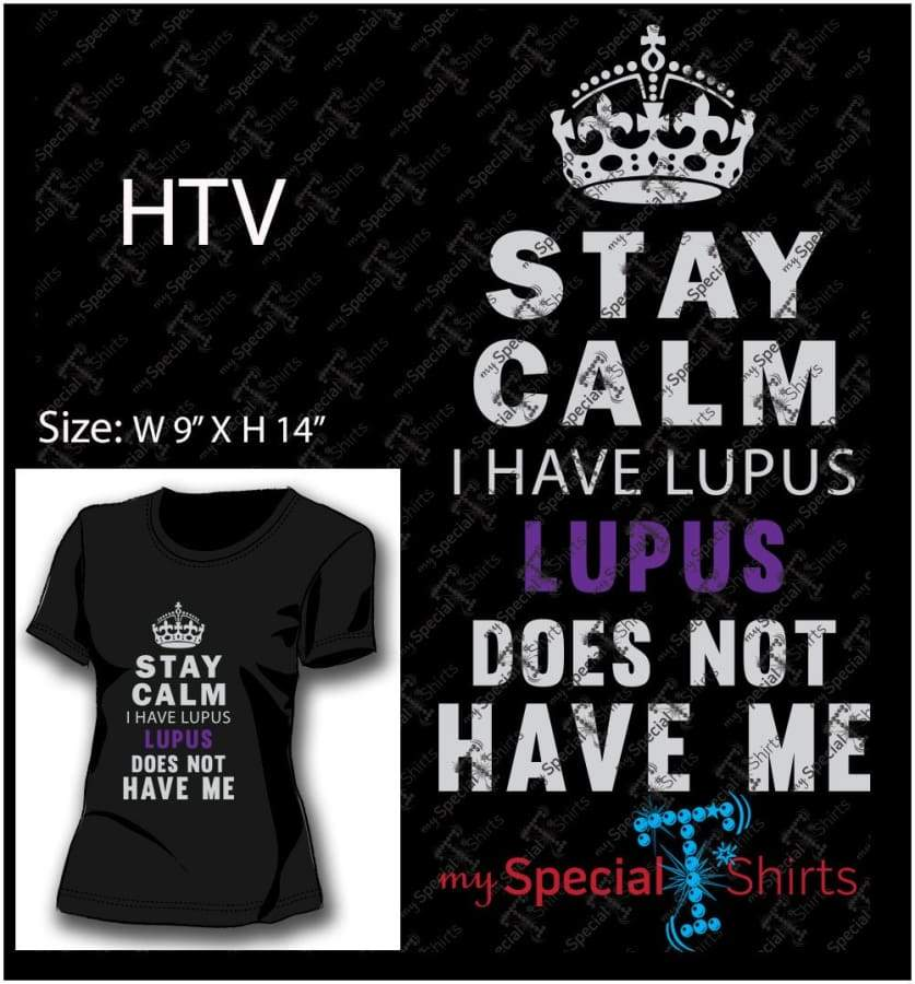 Stay Calm I Have Lupus Vector Digital Download Mst - Be Createful - Becreateful.com