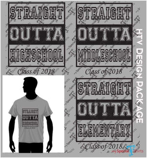 Straight Outta School Package Vector Digital Download Mst - Be Createful - Becreateful.com