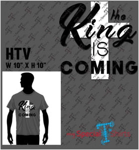The King Is Coming 3 Vector Digital Download Mst - Be Createful - Becreateful.com
