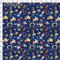 Limited Pre Order - Cindy and Prince Charming PRE ORDER YARD Violet Snow Custom Fabric