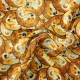Limited Pre Order - DOGE STACKED PRE ORDER YARD Violet Snow Custom Fabric