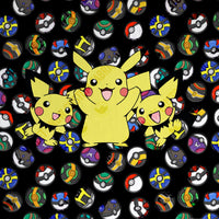 Limited Pre Order - Pika and Friends- Blanket Topper PRE ORDER TOPPER Violet Snow Custom Fabric