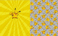 Limited Pre Order - Pika- Small Blanket Set PRE ORDER TOPPER Violet Snow Custom Fabric