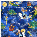 violet-snow-custom-fabric,Pre Order -Flying Over Neverland,Violet Snow Custom Fabric,PRE ORDER YARD.