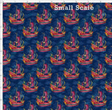 Pre Order R47 - Sword Flight PRE ORDER YARD Violet Snow Custom Fabric