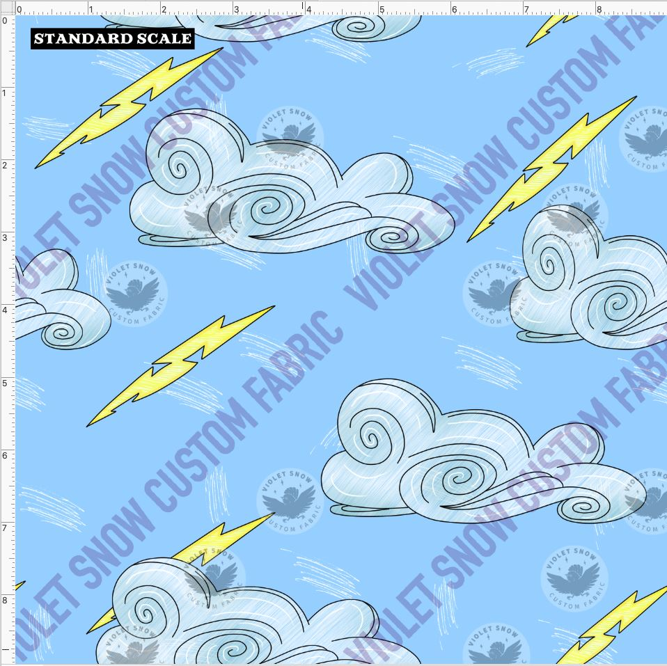 violet-snow-custom-fabric,Pre Order R49 - Hercules Cloud Coord,Violet Snow Custom Fabric,PRE ORDER YARD.
