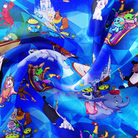 Pre Order - Sidekicks Day Off PRE ORDER YARD Violet Snow Custom Fabric
