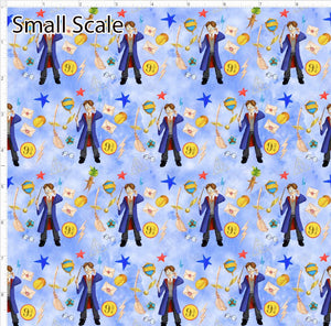 Pre Order - The Boy Who Lived PRE ORDER YARD Violet Snow Custom Fabric Cotton Spandex 240 GSM Small