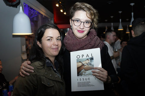 OPAL Issue 1 Launch Party: Natalie Bruvels and Danuta Sierhuis