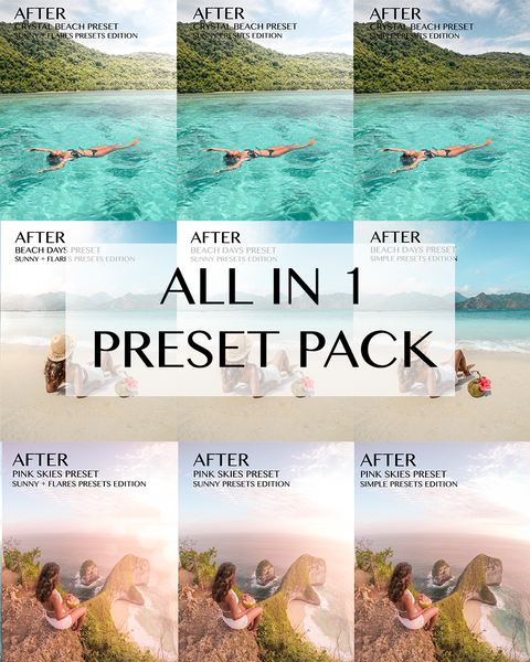 ALL IN 1 PRESET PACK for mobile
