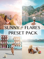SUNNY + FLARES PRESETS for mobile
