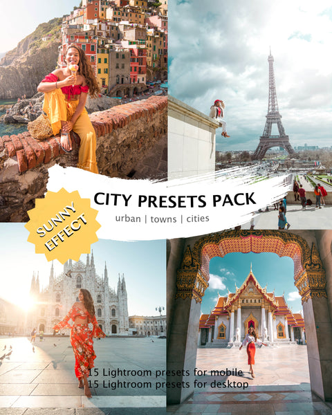 CITY PRESETS (+ sunny effect) desktop & mobile
