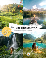 NATURE PRESETS (+sunny effect) desktop & mobile