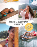 [NEW] SELFIE & PORTRAIT PRESETS (+sunny effect) for desktop and mobile